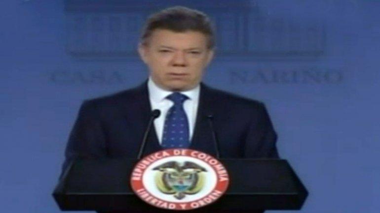 """Juan Manuel Santos anuncia mano dura: """"Ordené la militarización de Bogotá"""""""