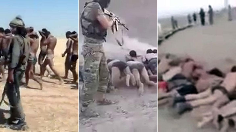 El Estado Islamico sigue masacrando gente...