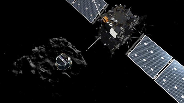 Sonda Philae halló moléculas orgánicas en el cometa