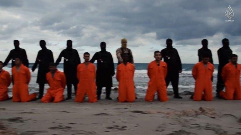 Rehenes egipcios ejecutados por el ISIS. IMÁGENES EXPLÍCITAS