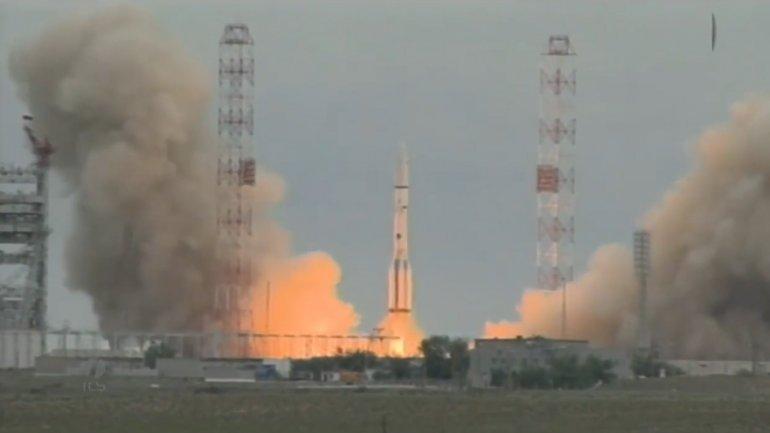 Otro desastre espacial ruso: se estrelló un cohete que trasladaba un satélite mexicano