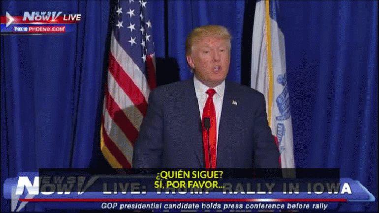Donald Trump expulsó al periodista de Univisión Jorge Ramos de una rueda de prensa