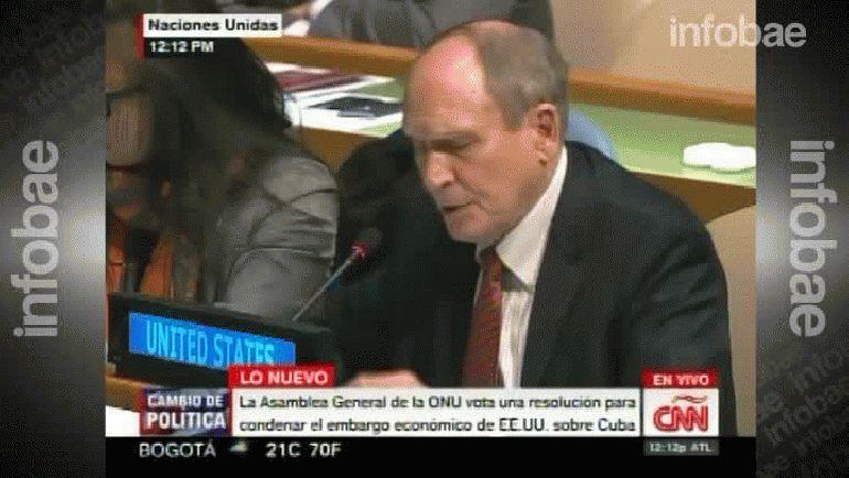 Ronald Godard, embajador de EEUU ante la ONU