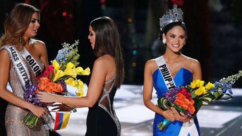 Insólito: las dos ganadoras del mismo concurso de Miss Universo