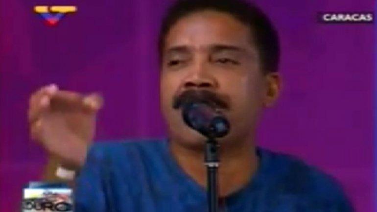 Un invitado del programa de Maduro criticó a la oposición