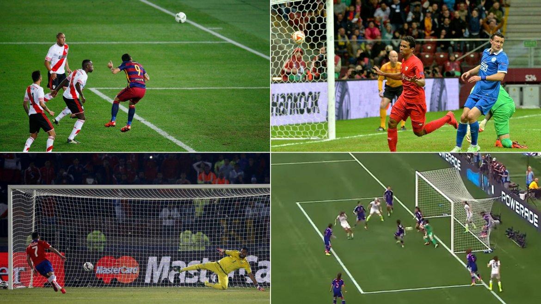 Los 12 goles más importantes del 2015
