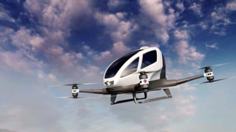 La fabricación del drone y el modo de uso: solo hay que seleccionar el destino