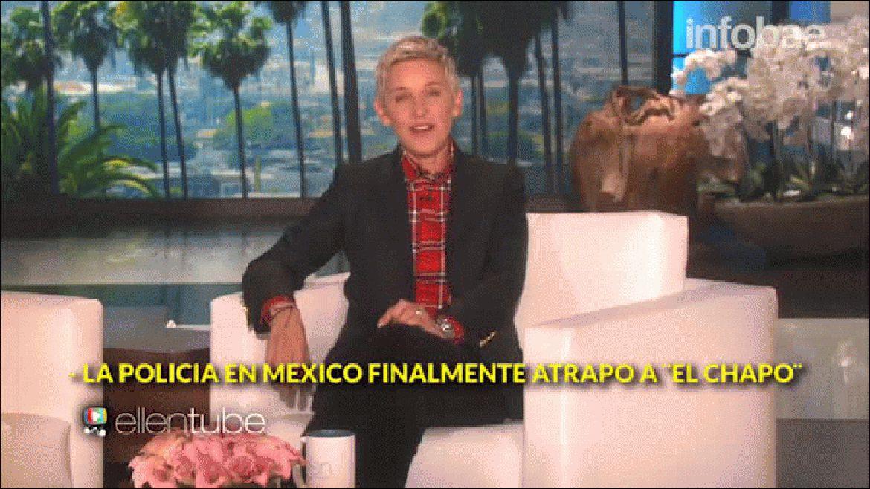 El Chapo Guzmán irrumpió en el estudio de Ellen DeGeneres