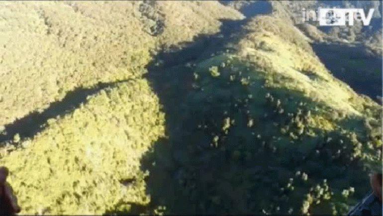 Video divulgado por la Secretaría de Marina de México. Gentileza El Universal