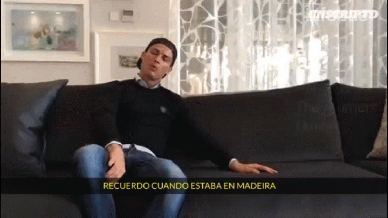 Cristiano Ronaldo contó la experiencia que tuvo a los 11 años en el Sporting Lisboa