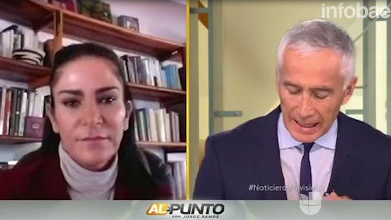 Al punto, con Jorge Ramos. Domingos a las 10 AM/9C. por Univision