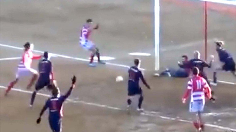 Los espectaculares bloqueos de Nino Ilardi, portero del Mussomeli de la quinta división del fútbol italiano