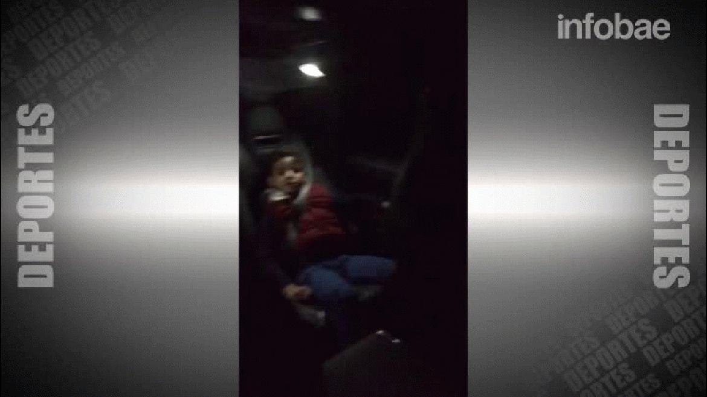 Cristiano Ronaldo cantó La Mordidita de Ricky Martin junto a su hijo en el coche
