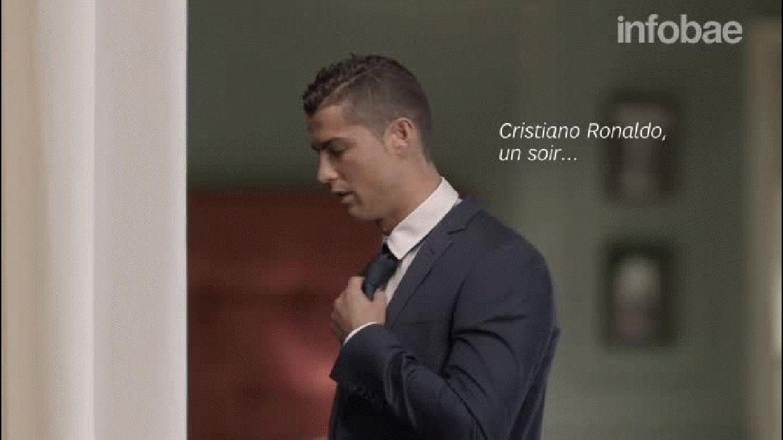 El spot francés donde Cristiano Ronaldo intenta seducir a una mujer pero no lo logra