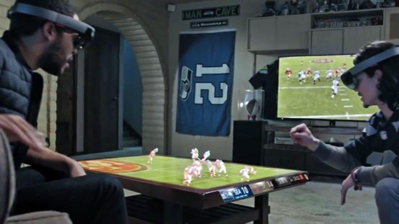 El anuncio de Microsoft que muestra las transmisiones del futuro de la NFL
