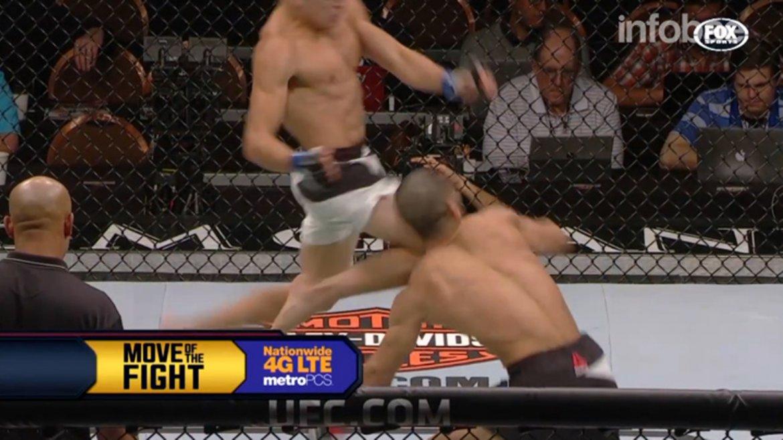 Fue la segunda presentación de Diego Rivas en UFC
