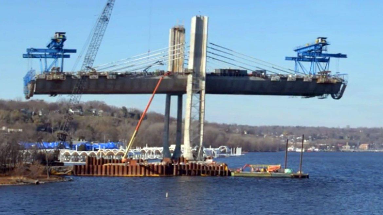 El puente sobre el río Saint Croix en Minnesota. Un video en time lapse  muestra cómo fue su construcción, que duró dos años y está a punto de  ser finalizada
