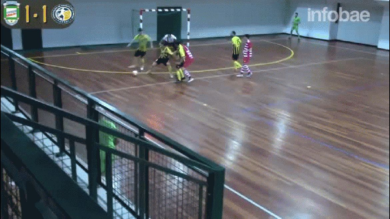 Luis Pedro Kiko eludió a todos sus rivales y anotó un gol inolvidable en el futsal de Portugal