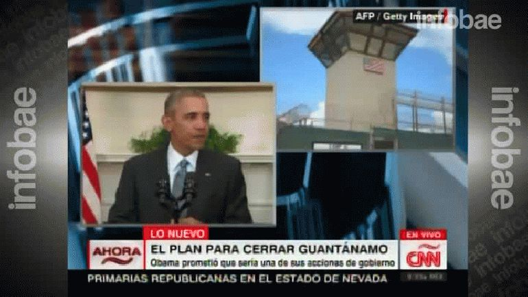 El presidente de los Estados Unidos, Barack Obama, anuncia su plan para cerrar la base de Guantánamo, en Cuba