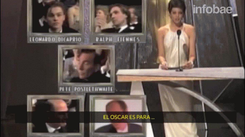 Leonardo DiCaprio ya perdió 4 premios Oscar, tras ser nominado por ¿A quién ama Gilbert Grape?, Diamante de sangre, El Aviador y El Lobo de Wall Street