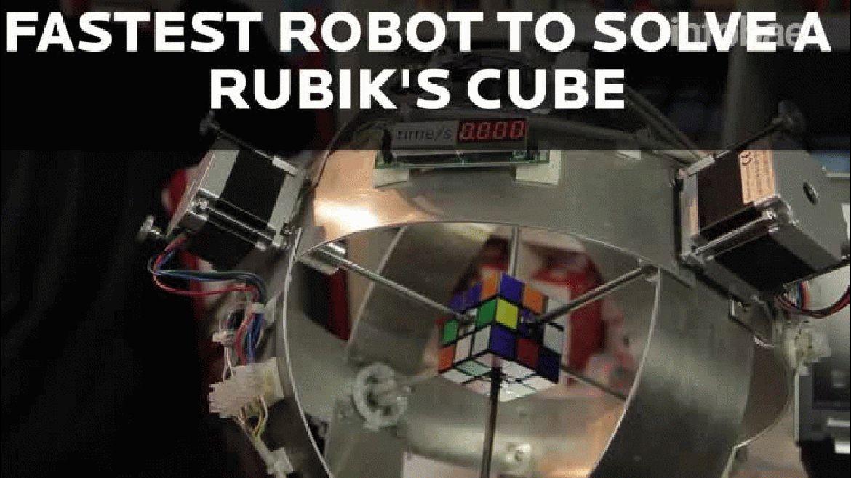 Así rompió el récord el robot alemán