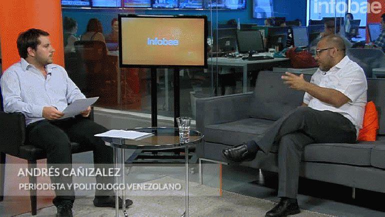 El politólogo Andrés Cañizalez analizó la situación venezolana en Infobae