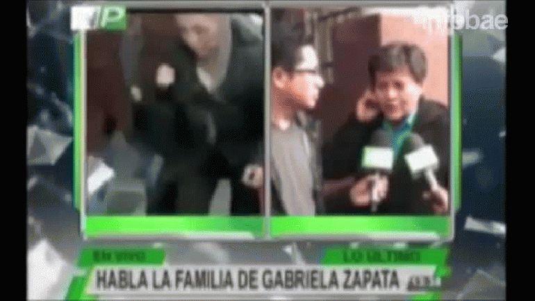 La tía de Gabriela Zapata dijo que el hijo de Evo Morales vive