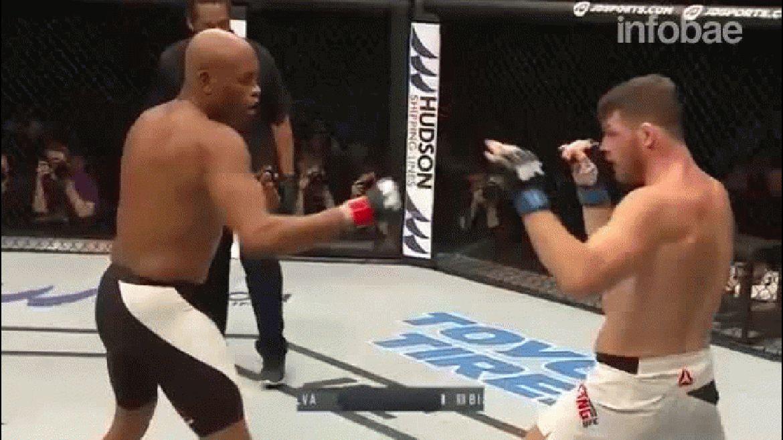 Los mejores momentos de la sangrienta pelea entre Michael Bisping y Anderson Silva
