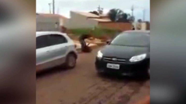Así fue el brutal ataque a puñaladas en Brasil