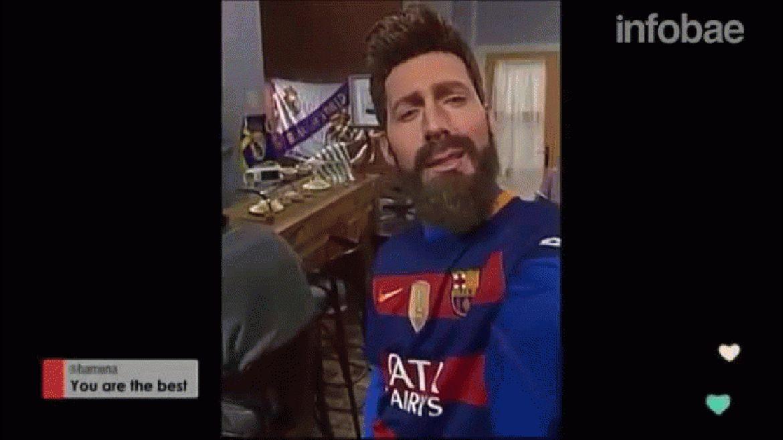 La burla a Gerard Piqué y a Sergio Ramos