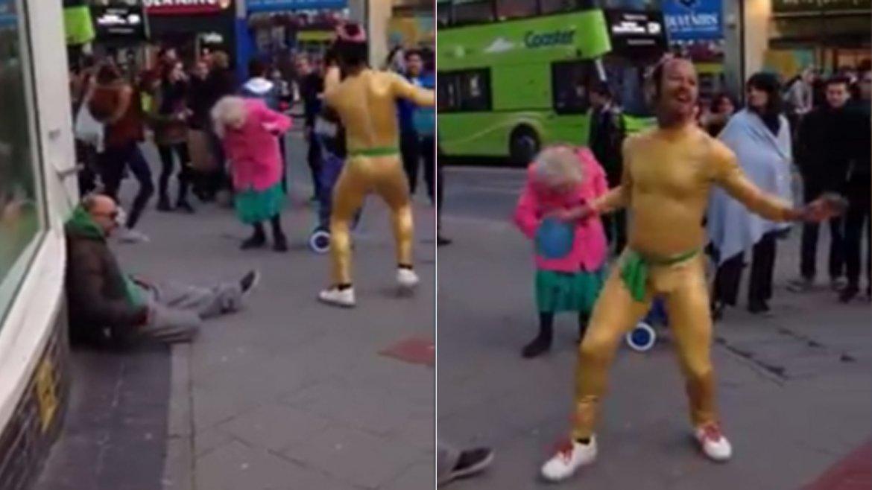 Un video presentado por Unilad es sensación en las redes. En pocas horas fue visto por millones de usuarios. Ocurrió en Brighton, Reino Unido