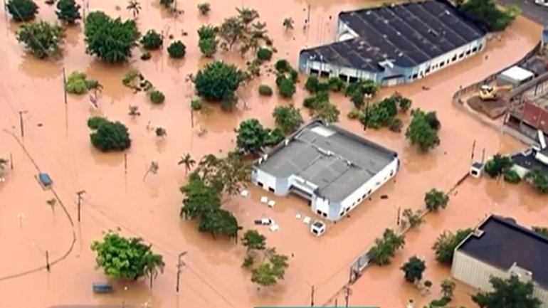Las inundaciones en San Pablo dejaron muertos y heridos