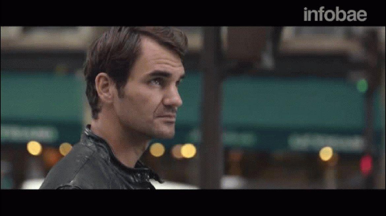 El anuncio de Roger Federer es paraSunrise TV,una plataforma suiza de contenido digital
