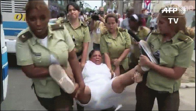 El régimen castrista detuvo a decenas de disidentes cubanos