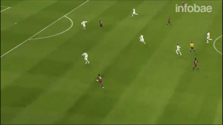 Aquel partido de 2005, Barcelona ganó 3 a 0 con dos goles de Ronaldinho y otro de Samuel Etoo