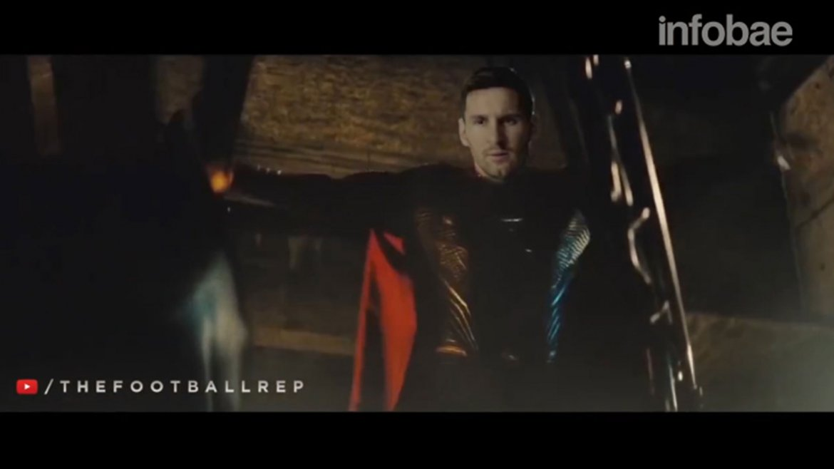 Imperdible parodia de Batman vs. Superman con Messi y Ronaldo de protagonistas