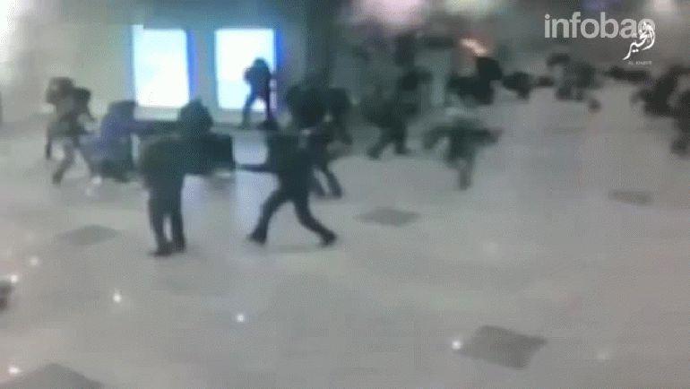 ISIS reveló nuevas imágenes de los atentados en Bruselas que muestran la magnitud de las explosiones