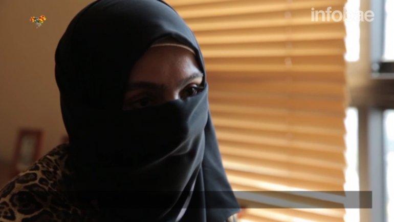 Fragmentos de la entrevista realizada por la televisión sueca a la ex esposa de Baghdadi