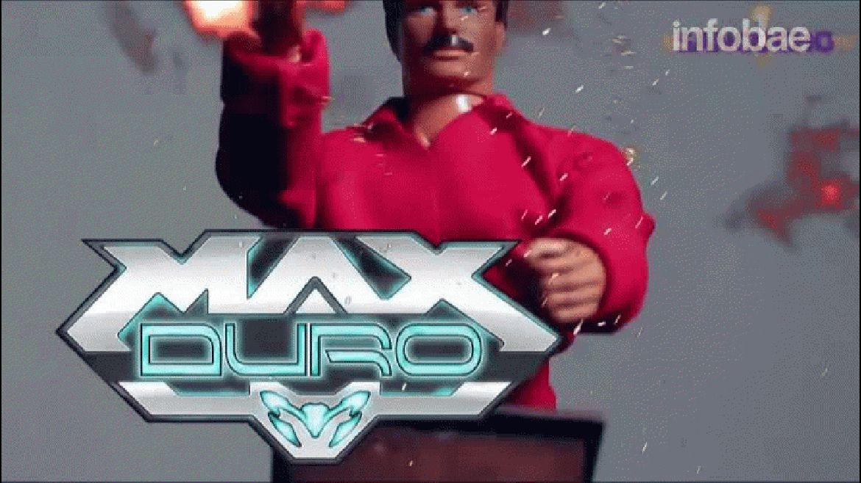 El comercial de Max Duro, presentado por El Sancocho TV